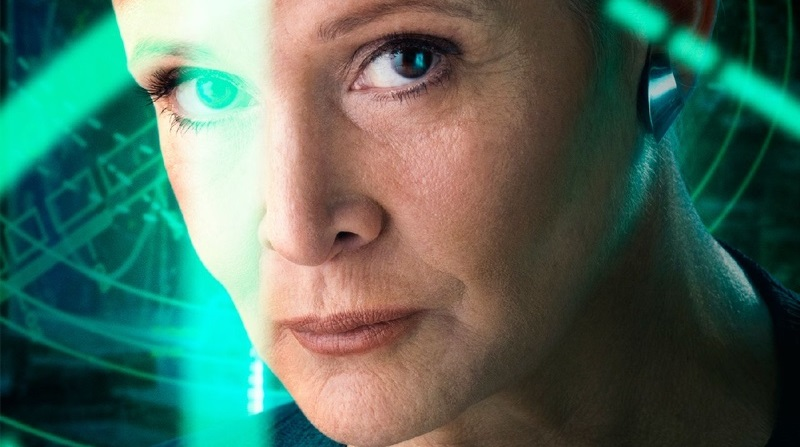 Leia character poster feature