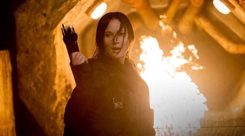 Mockingjay Girl On Fire