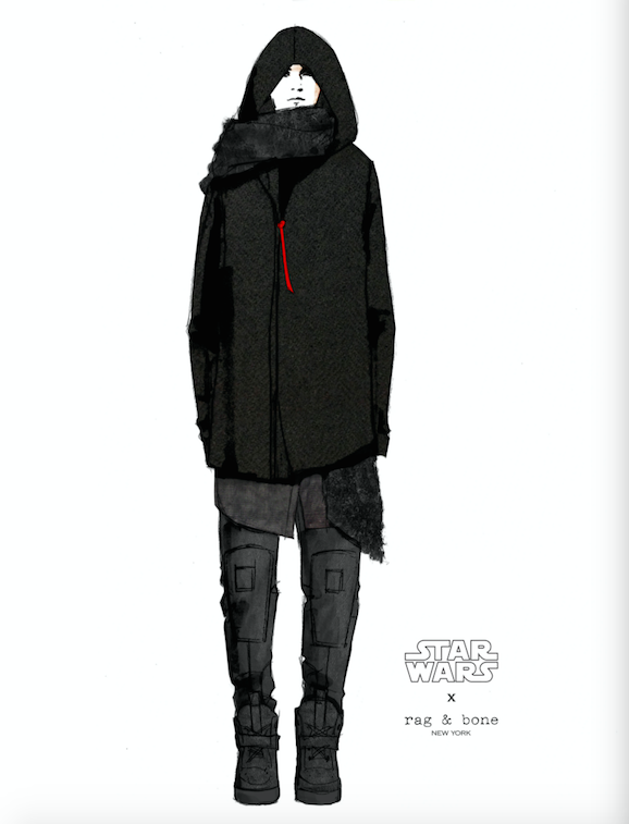 Rag & Bone Kylo Ren Design