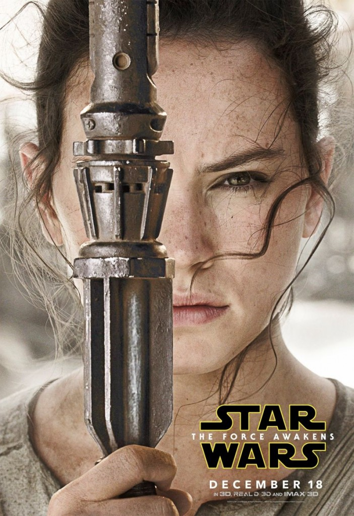 Rey Character poster