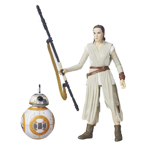 Rey and BB8 Black