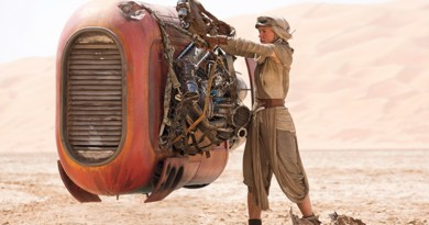 Rey and her speeder