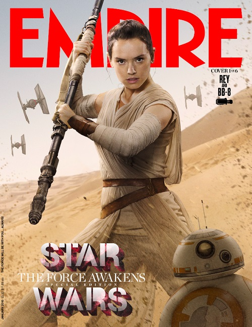 Rey cover Empire Magazine
