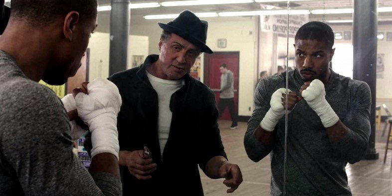 Creed movie Stallone Jordan