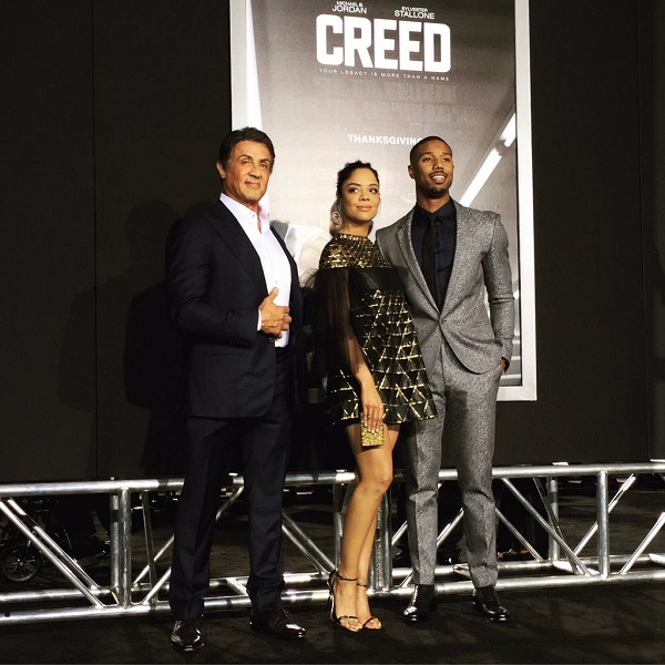 Creed movie Stallone Thompson Jordan