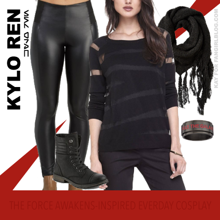 Everyday Cosplay Casual Kylo Ren from FANgirl Blog