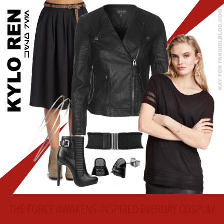 Everyday Fashion Inspired by Kylo Ren from FANgirl Blog