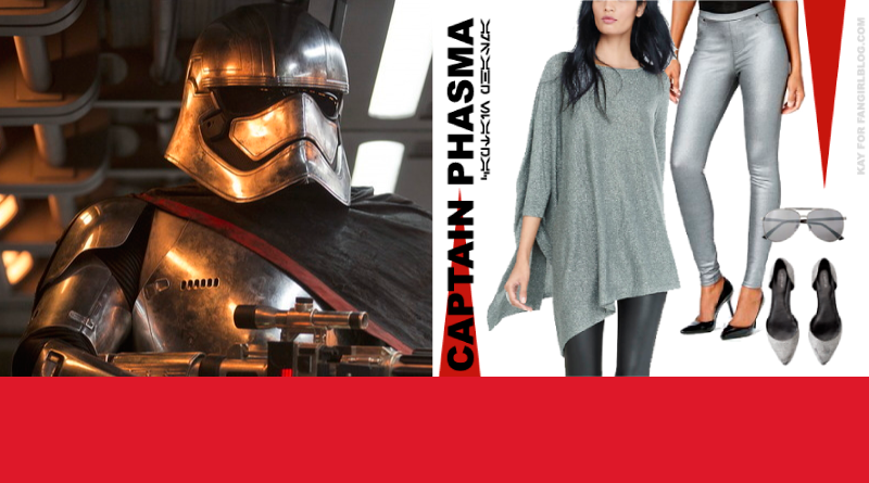 Captain Phasma Inspired Styling from FANgirl Blog