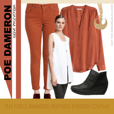 Everyday Cosplay for Poe Dameron