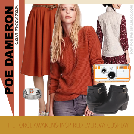 Poe Dameron Everyday Cosplay Look 2