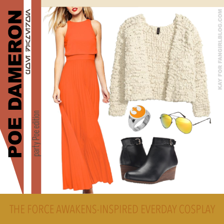 Dressy Poe Dameron Everyday Cosplay