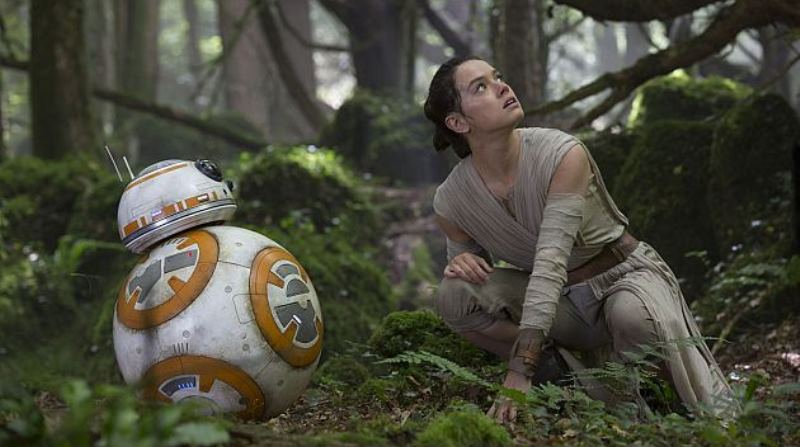 Rey and BB-8 look concerned