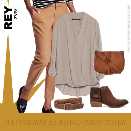 Rey The Force Awakens-Inspired Everyday Cosplay From FANgirl Blog