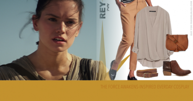 Rey Inspired Everyday Cosplay from FANgirl Blog