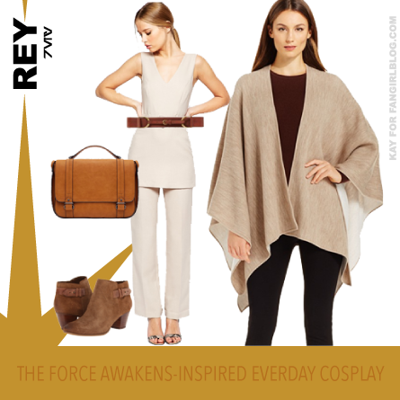 Everyday Cosplay Inspired by Rey from The Force Awakens