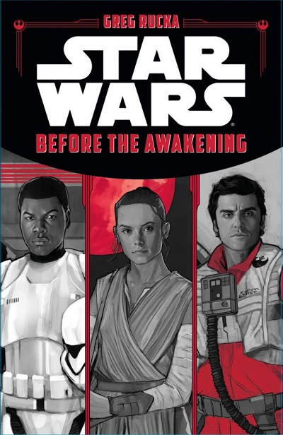 Rucka Before the Awakening cover
