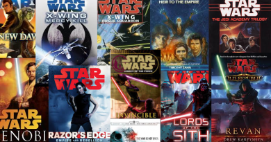 Star Wars Books Covered by the Nerd Lunch Podcast with Kay