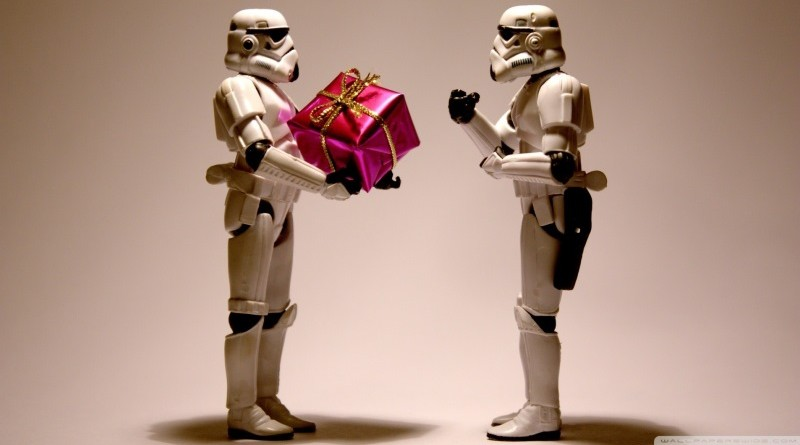 holiday stormtroopers