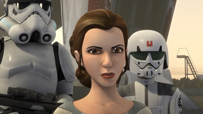Rebels Leia on Lothal
