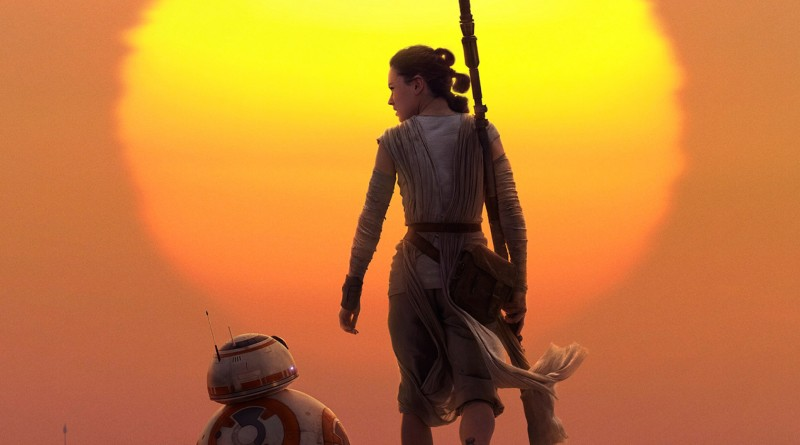 The Force Awakens Rey & BB-8 IMAX
