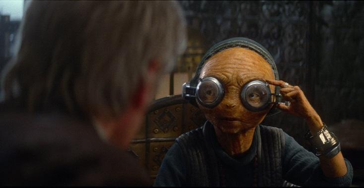Han Maz mentors Rey