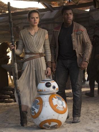 Rey Finn BB-8