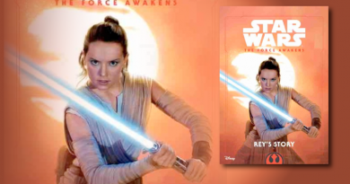 Rey's Story Reviewed on FANgirl Blog