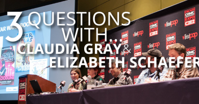 Claudia Gray and Elizabeth Schaefer interview