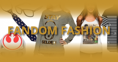 Fandom Fashion Friday on FANgirl Blog