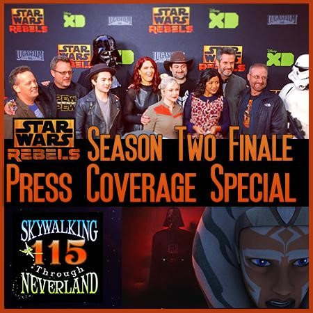 Skywalking Rebels season two finale press conference
