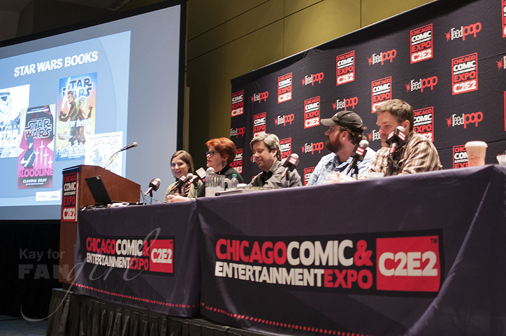 Star Wars Books Panel at C2E2 2016