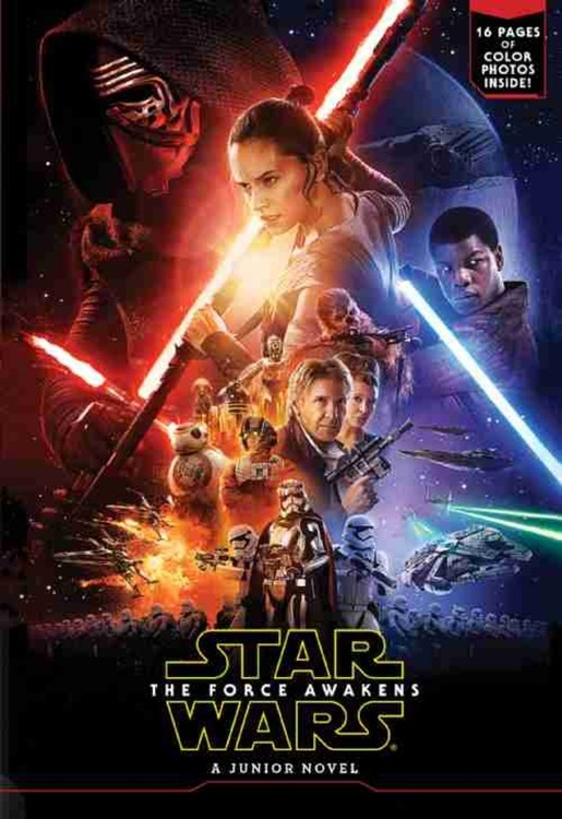 TFA Junior Novelization Cover