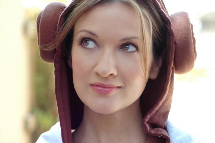 Cat Taber Leia hoodie