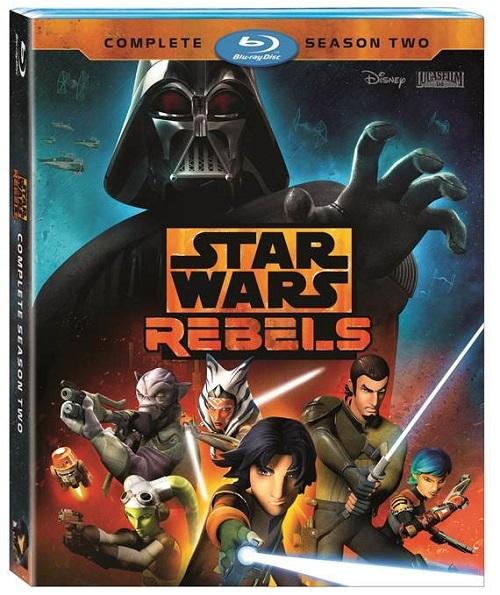 Rebels Season Two Blu-ray cover