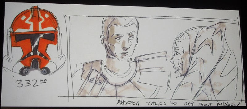 Celebration London Ahsoka Untold Rex at Mandalore