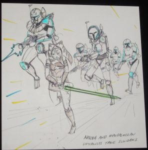 Celebration London Ahsoka Untold Siege of Mandalore