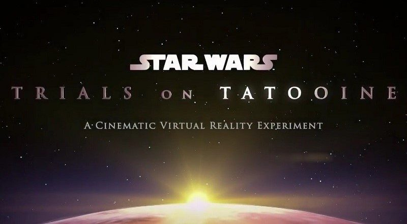 ILMxLAB Trials on Tatooine