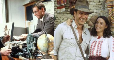 the two sides of Indiana Jones