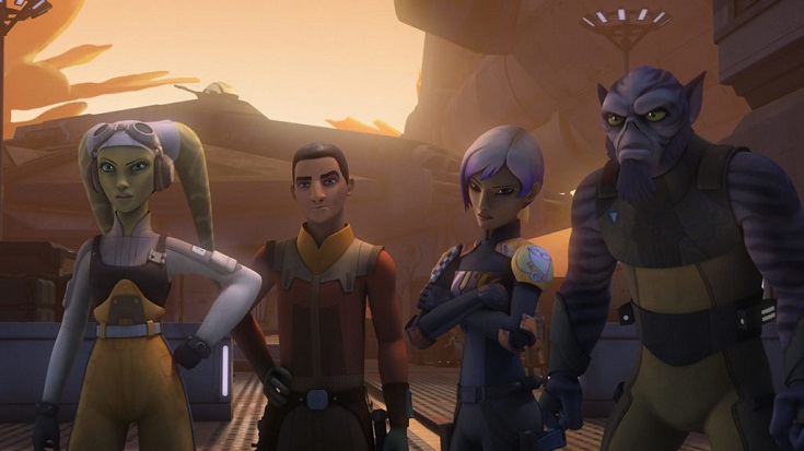 Rebels S3 Ghost crew