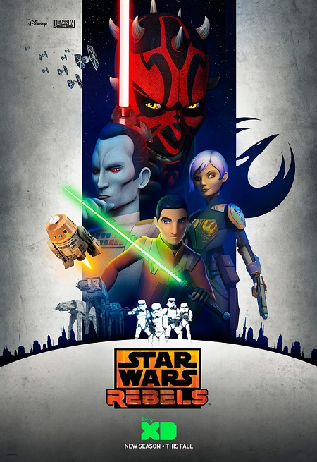 Rebels Season Three poster