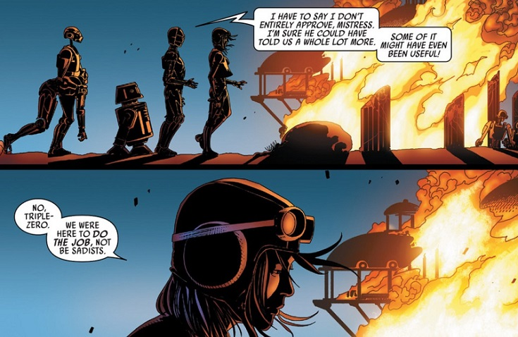 Aphra and Murder Droids