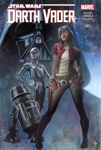 Aphra introduced Darth Vader #3 cover