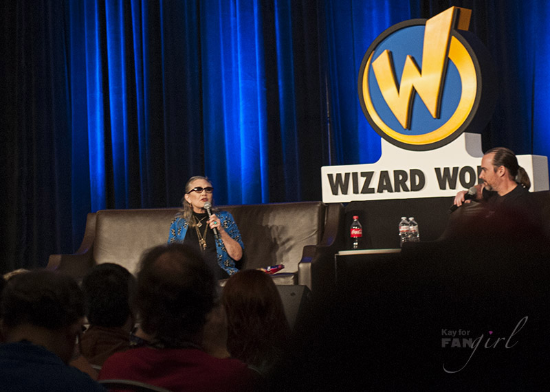 Carrie Fisher at Wizard World Chicago