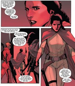 Leia comics Rebel Jail