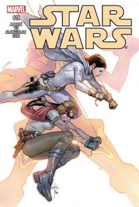 Leia comics Star Wars #18 cover