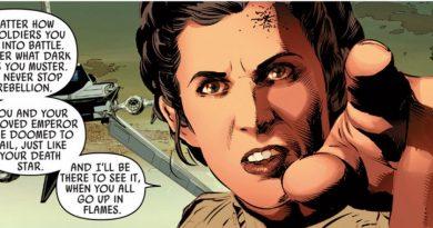 Leia comics Vader Down