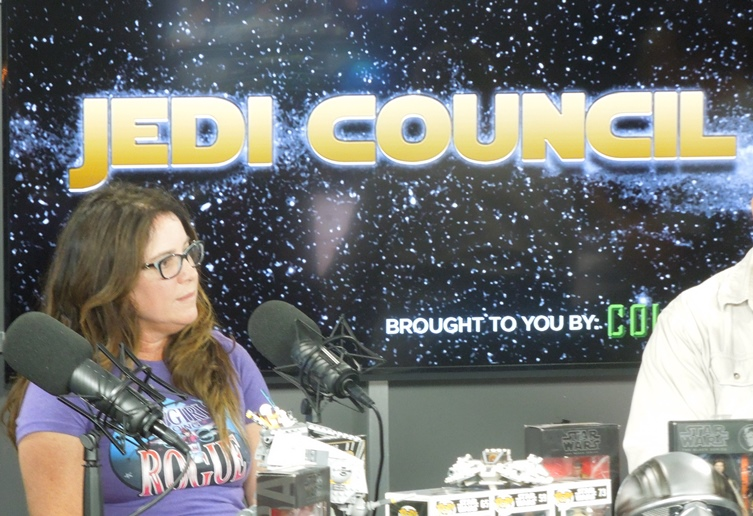 Tricia Barr on Collider Jedi Council