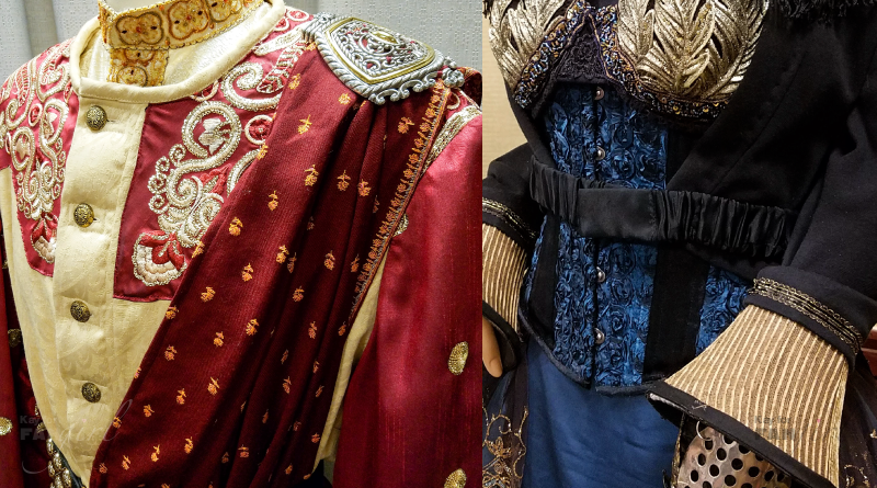 Details from The Costuming Exhibit at Dragon Con