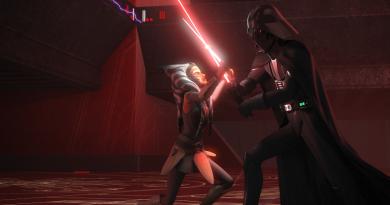 Ahsoka Vader Star Wars Rebels