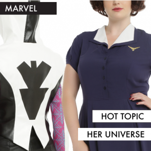 Her Universe Women of Marvel Collection at Hot Topic featured on FANgirl Blog